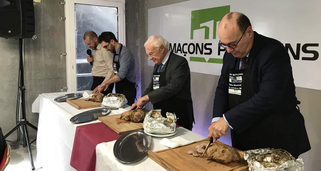 Gigot bitume des Macons Parisiens